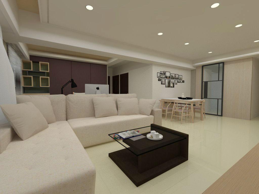 大禾室內空間設計|室內設計作品|富都心住宅