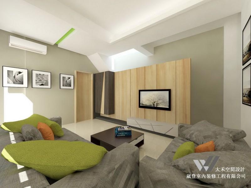 室內空間設計|室內設計作品|溫馨家居風格住宅
