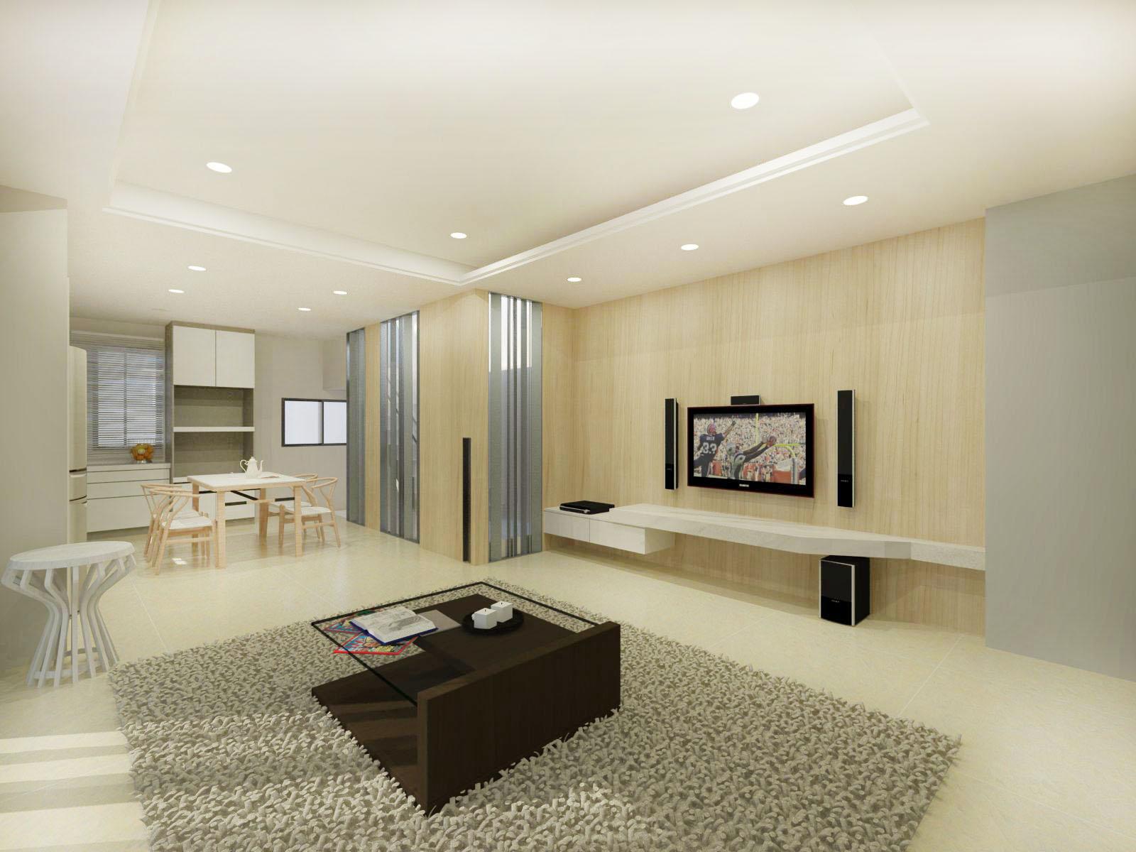 大禾室內空間設計|室內設計作品|凡登住宅